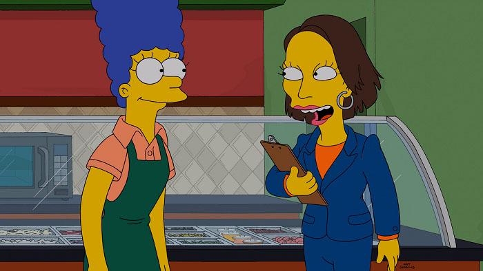 "Imagen promocional temporada 26 Los Simpson: ""Super Franchise Me""."