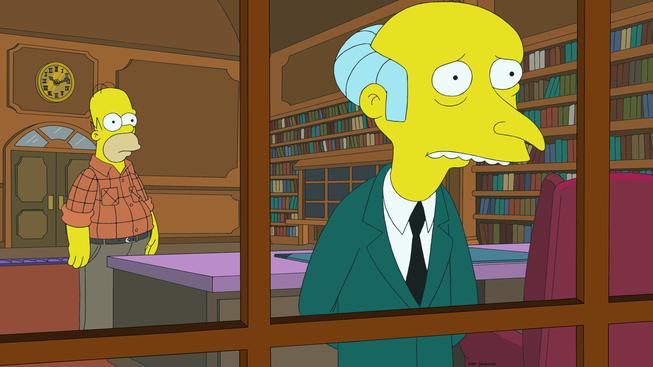 """Imagenes promocional de Los Simpson, temporada 26: """"Opposites A-Frack"""""""