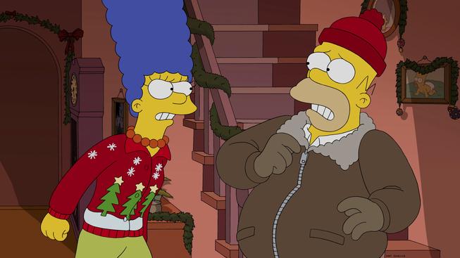 """Los Simpson, episodio: """"No Estaré En Casa Por Navidad"""""""