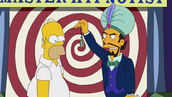"Imagen promocional temporada 26 de Los Simpson: ""Bart's New Friend"""