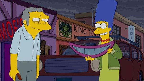 """Imagen promocional de la temporada 26 de Los Simpson: """"My Fare Lady"""""""