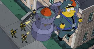 Estreno de Los Simpson en España: Sky Police (26x16)