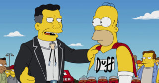 Estreno de Los Simpson en España: Waiting For Duffman (26x17)