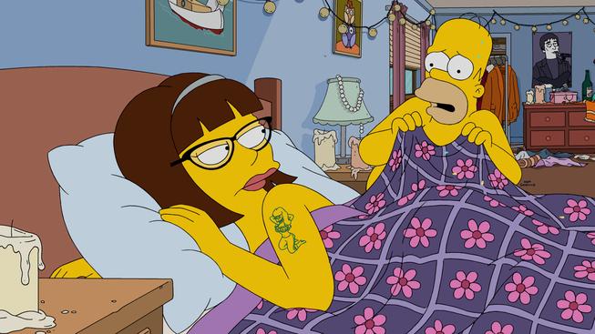 """Imagen promocional de la temporada 27 de Los Simpson: """"Every Man's Dream"""""""