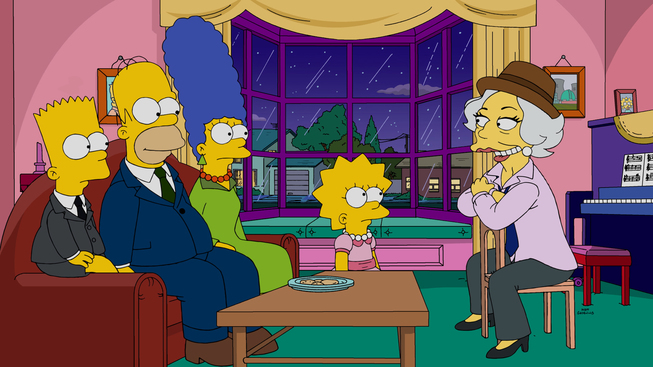 """Imagen promocional de la temporada 27 de Los Simpson: """"Lisa With An 'S'"""""""