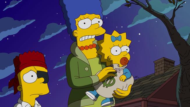 """Imagen promocional de la temporada 27 de Los Simpson: """"Halloween Of Horror"""""""