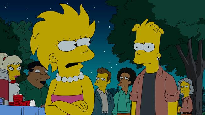 """Imagen promocional de la temporada 27 de Los Simpson: """"Barthood"""""""