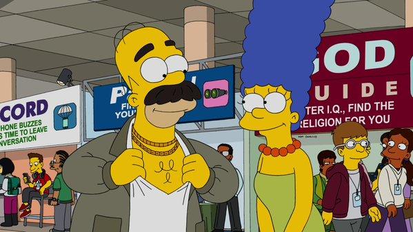 """Imagen promocional de la temporada 27 de Los Simpson: """"The Girl Code"""""""