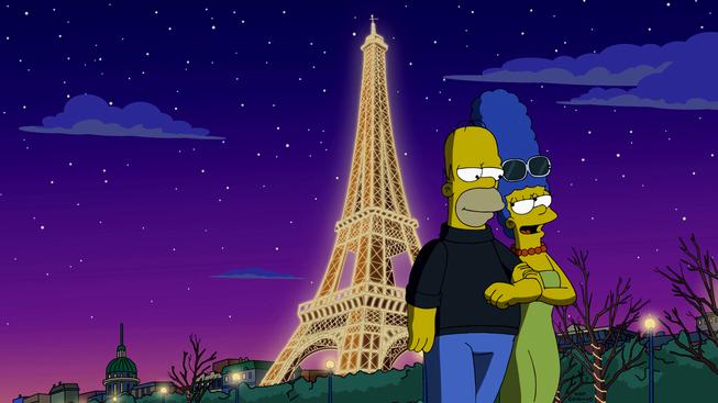 """Imagen promocional de la temporada 27 de Los Simpson: """"To Courier With Love"""""""