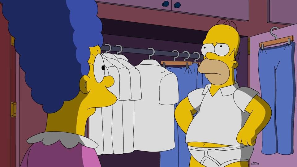 """Imagen promocional de la temporada 28 de Los Simpson: """"Trust But Clarify"""""""