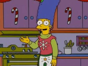 Mensaje Navideño de Los Simpson
