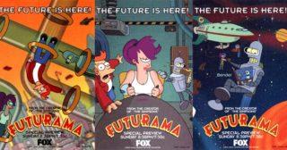 ¡Futurama cumple 20 años!