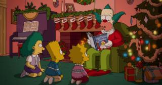 Estreno de Los Simpson en Norteamérica: The Nightmare After Krustmas