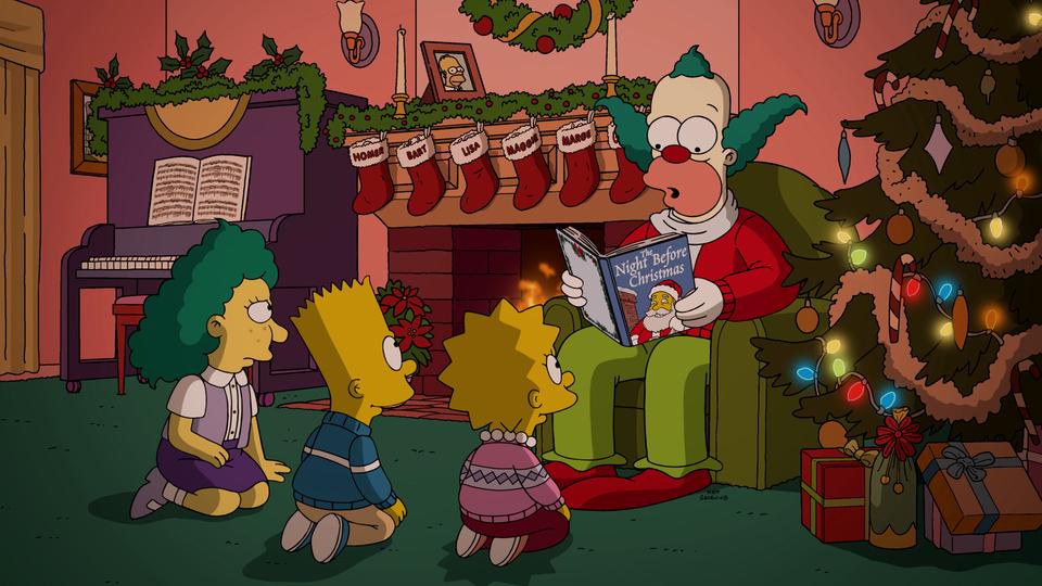 """Los Simpson, episodio: """"Pesadilla Después De Navikrusty"""""""