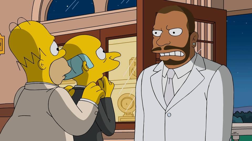 """Imagen promocional de la temporada 28 de Los Simpson: """"The Great Phatsby: Part Two"""""""