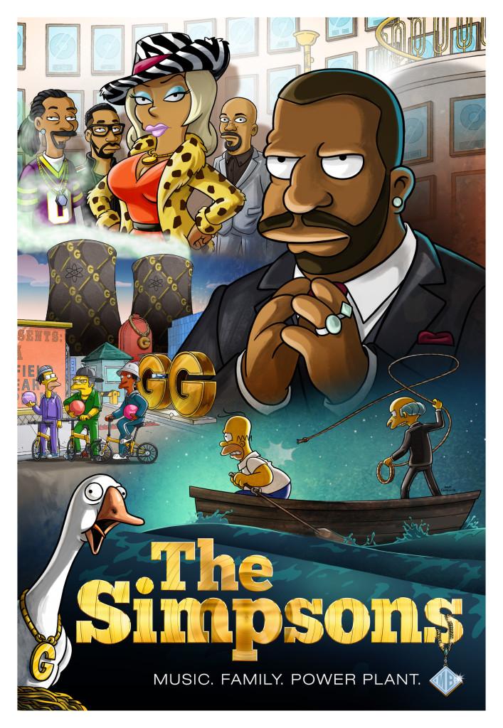 """Imagen promocional de la temporada 28 de Los Simpson: """"The Great Phatsby: Part One"""""""