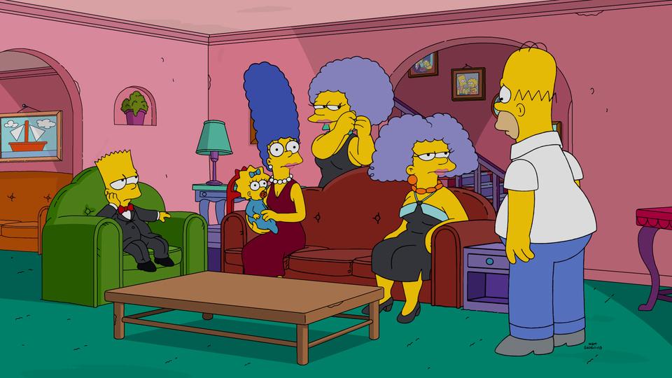 """Imagen promocional de la temporada 28 de Los Simpson: """"Fatzcarraldo"""""""