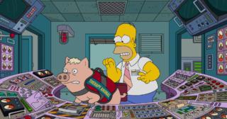 Estreno de Los Simpson en Norteamérica: Pork And Burns