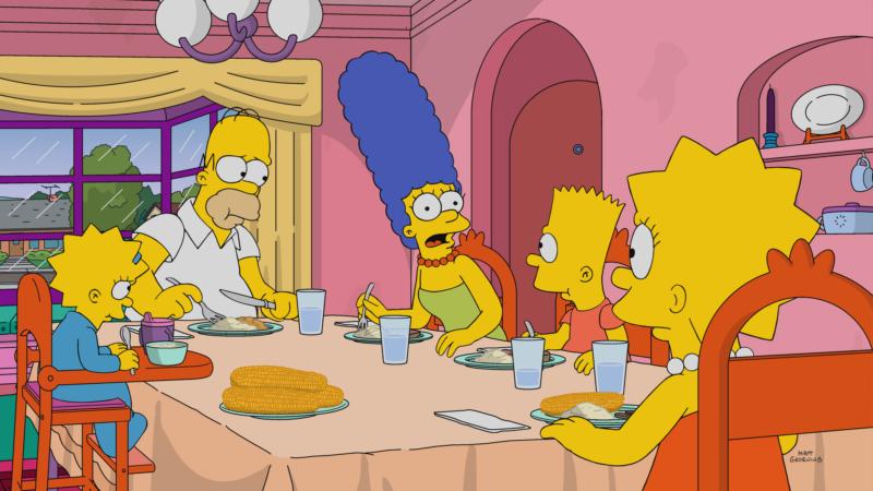 """Imagen promocional de la temporada 29 de Los Simpson: """"Whistler's Father"""""""