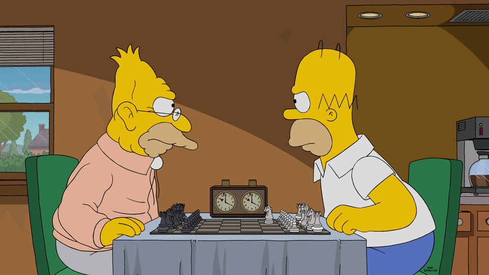 "Imagen promocional de la temporada 28 de Los Simpson: ""The Cad And The Hat"""
