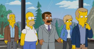 Estreno de Los Simpson en Norteamérica: Caper Chase