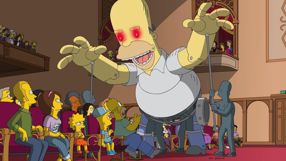 """Imagen promocional de la temporada 29 de Los Simpson: """"Springfield Splendor"""""""