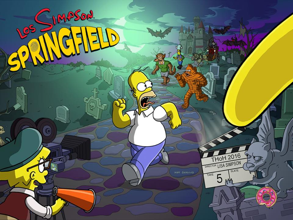 Los Simpson: Springfield - Halloween