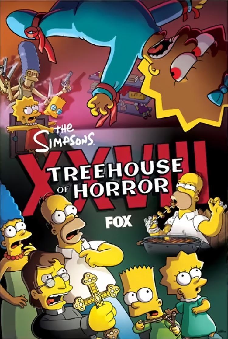 """Imagen promocional de la temporada 29 de Los Simpson: """"Treehouse Of Horror XXVIII"""""""