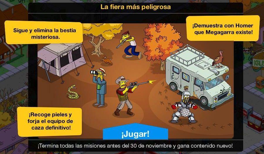 Los Simpson: Springfield - Acción de Gracias 2016