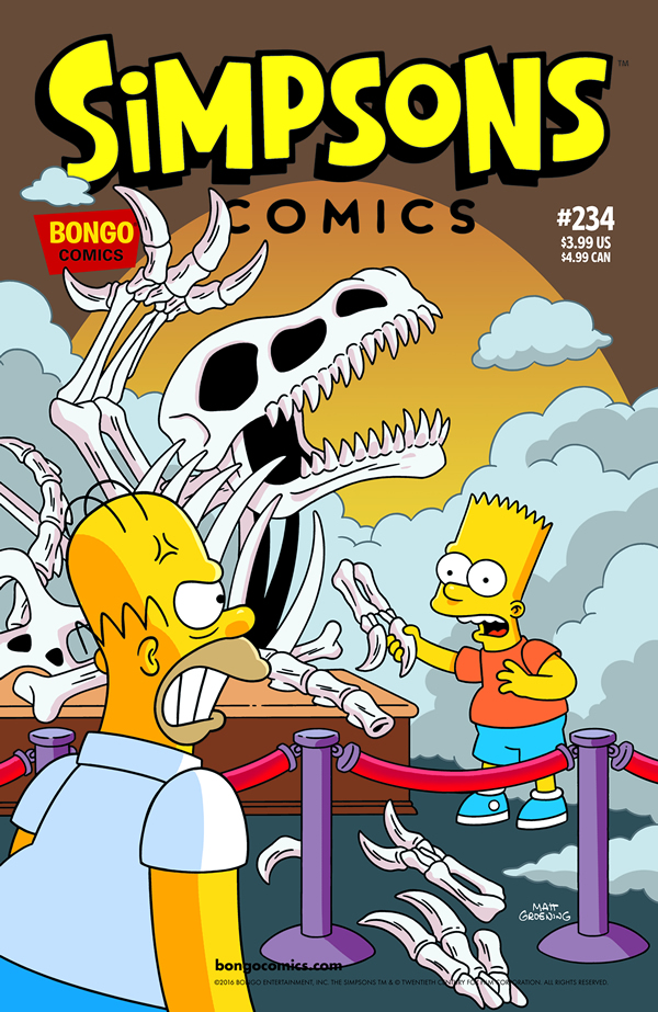 Simpson Cómics 234
