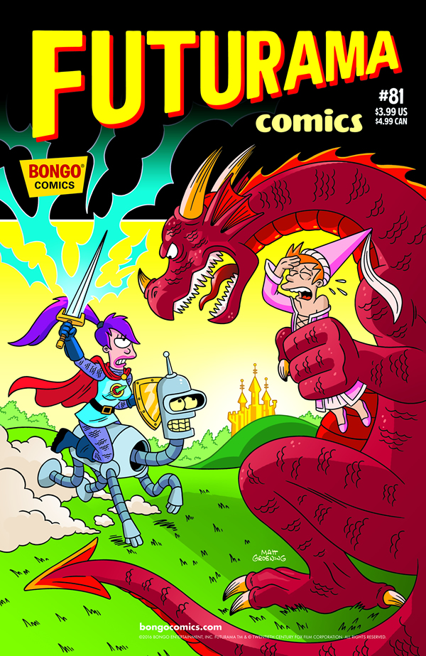 Futurama Cómics 81