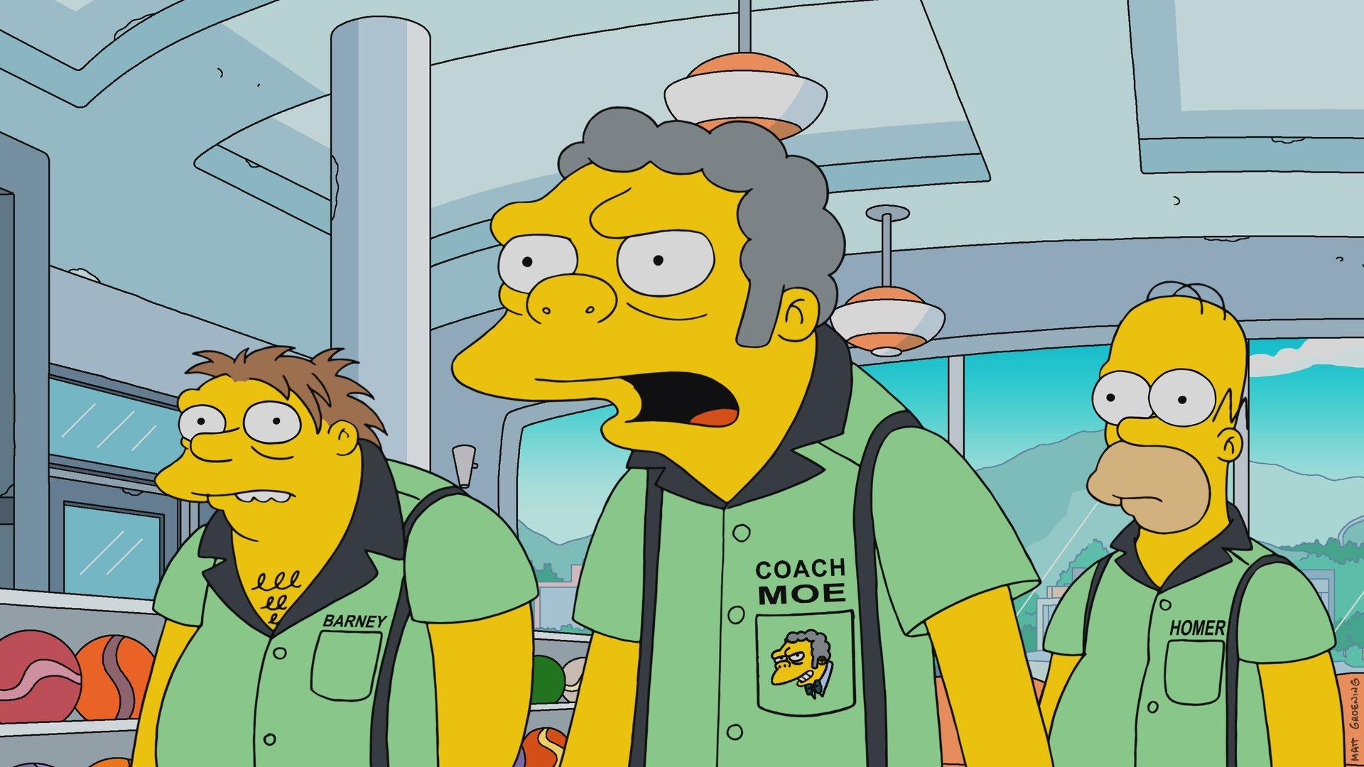"""Imagen promocional de la temporada 29 de Los Simpson: """"Singin' In The Lane""""."""