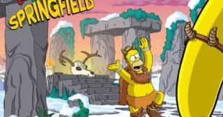 Nuevo evento en Los Simpson: Springfield - Invierno 2016