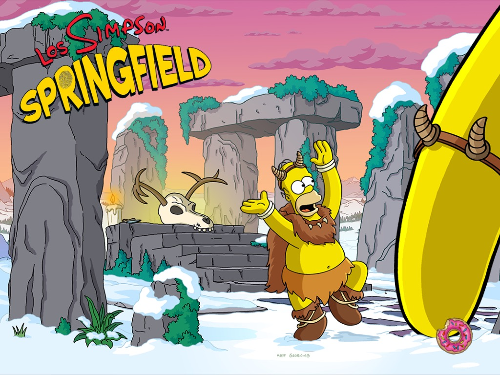 Los Simpson: Springfield - Invierno 2016