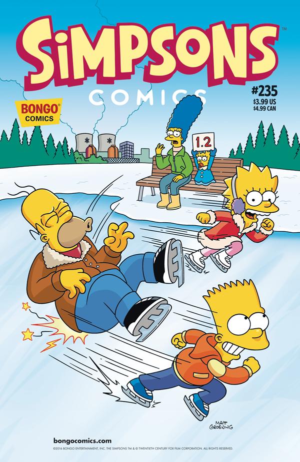Simpson Cómics 235