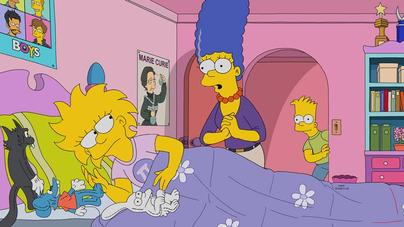 """Imagen promocional de la temporada 29 de Los Simpson: """"Mr. Lisa's Opus""""."""