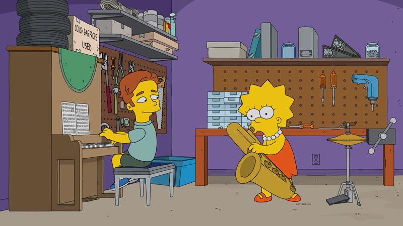 """Imagen promocional de la temporada 29 de Los Simpson: """"Haw-Haw Land""""."""