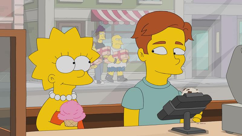 """Imagen promocional de Los Simpson: """"Haw-Haw Land""""."""