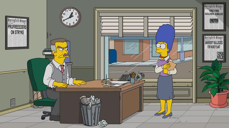 """Imagenes promocional de la temporada 29 de Los Simpson: """"3 Scenes Plus A Tag From A Marriage"""""""