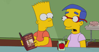 Estreno de Los Simpson en España: «No Good Read Goes Unpunished» (29x15)