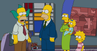 "Estreno de Los Simpson en Norteamérica: ""Fears Of A Clown"" (29x14)"