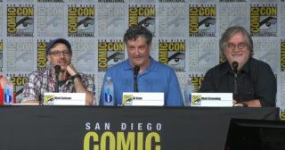 Los Simpson en la Comic-Con de San Diego 2017