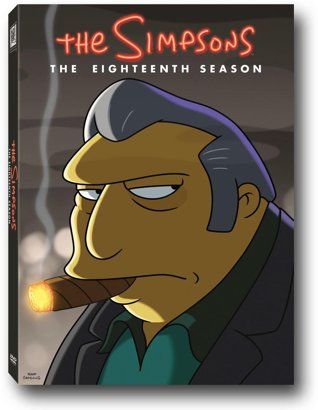Se reanuda la edición en DVD de Los Simpson con la temporada 18 ...
