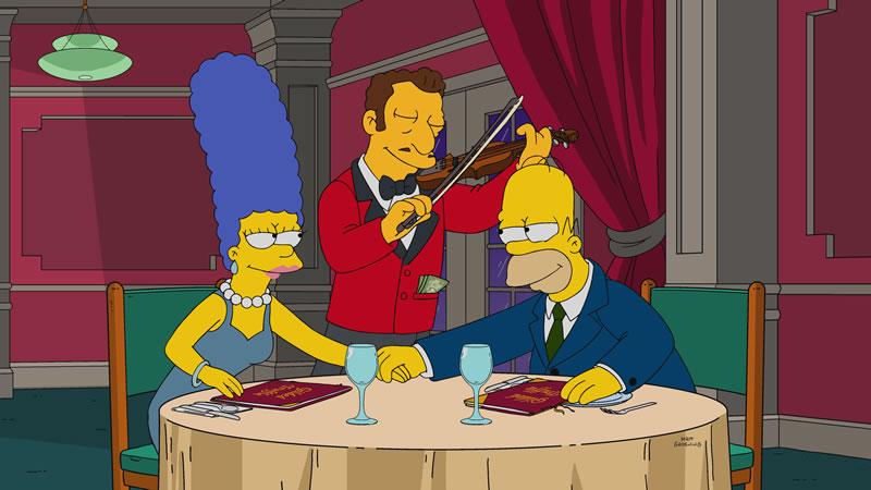 """Imagen promocional de la temporada 29 de Los Simpson: """"Left Behind"""""""