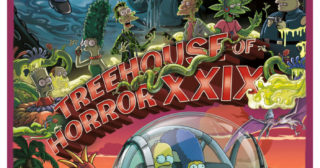 Estreno de Los Simpson en Norteamérica: Treehouse Of Horror XXIX (30x04)