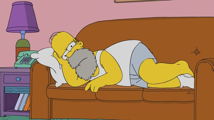 Imagen promocional de Los Simpson: Baby You Can't Drive My Car