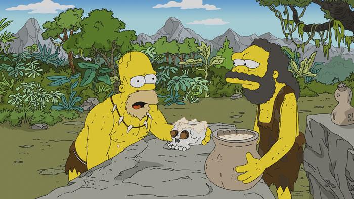 """Imagen promocional de la temporada 30 de Los Simpson: """"From Russia Without Love""""."""
