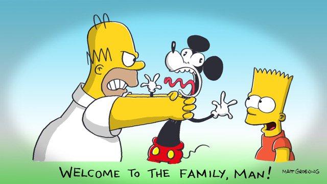 Los Simpson llega a Disney