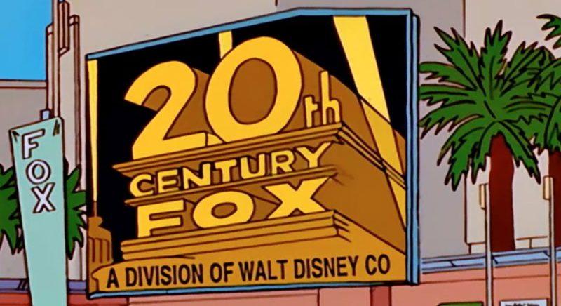 Los Simpson predice la compra de Fox por Disney