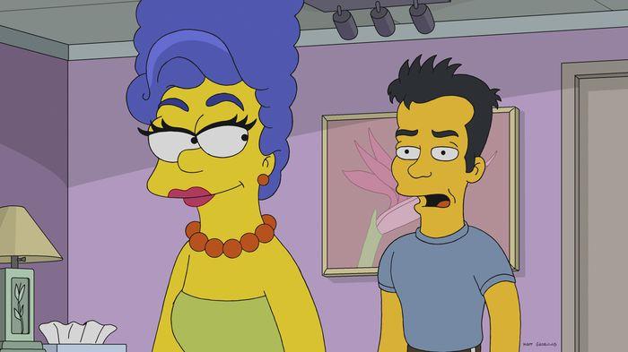 """Imagen promocional de la temporada 30 de Los Simpson: """"Werking Mom""""."""
